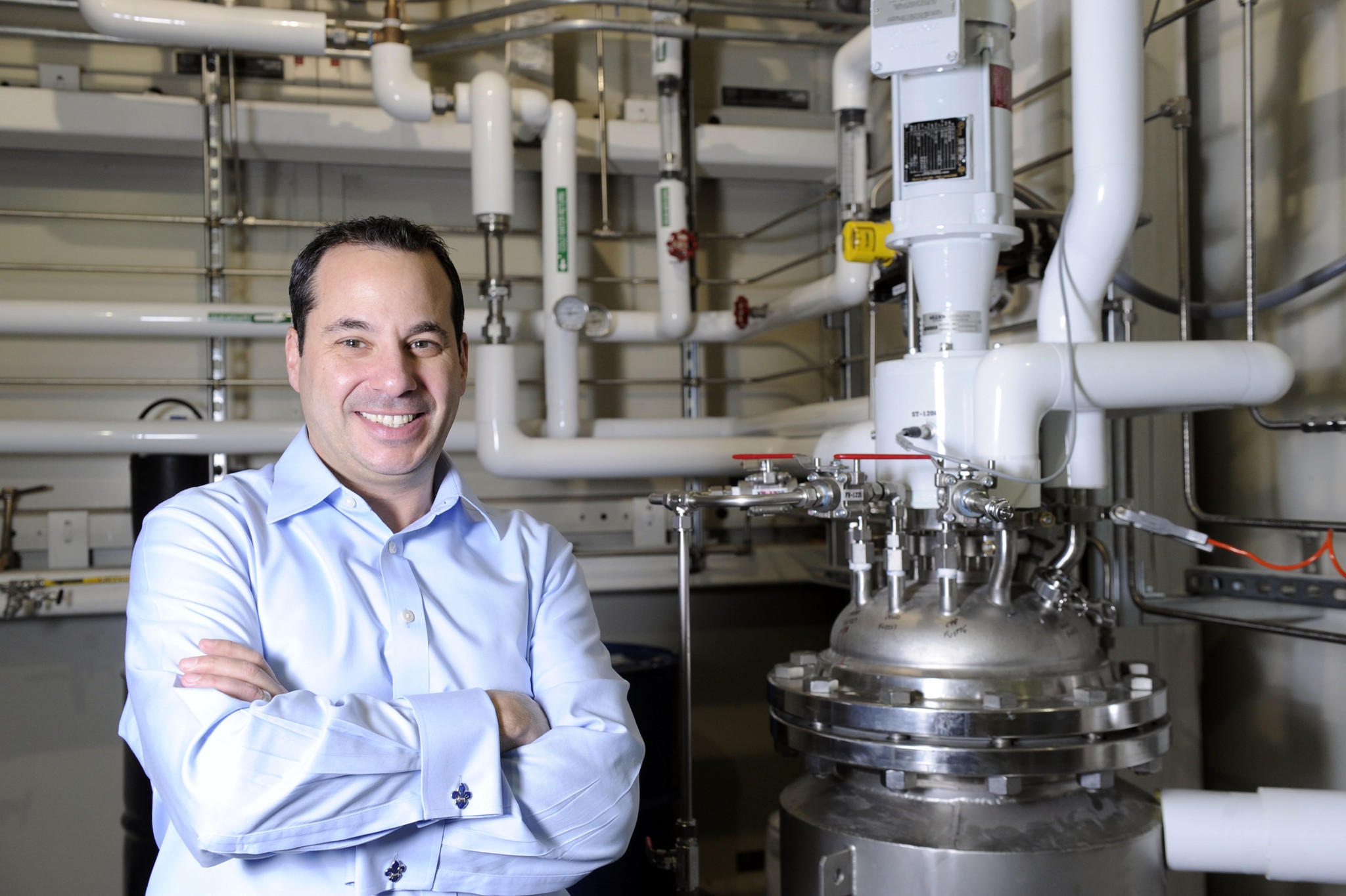 """Craig Bandes, CEO of Pixelligent, a technology company that makes """"nanocrystals"""" used in semiconductors and electronics for improved efficiency."""
