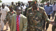 Armed youths reported to be marching toward South Sudan town