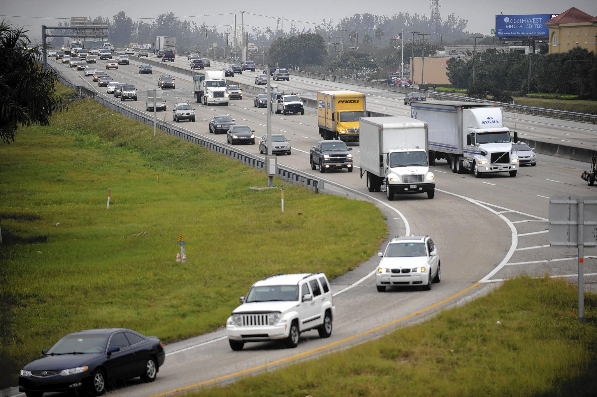 Both the county and Boca Raton are asking about a new interchange at Glades Rd. and the Turnpike to allevaite the interchange, but the turnpike and FDOT are looking at other ways to resolve issues at the intersection, including possibly a new ramp.