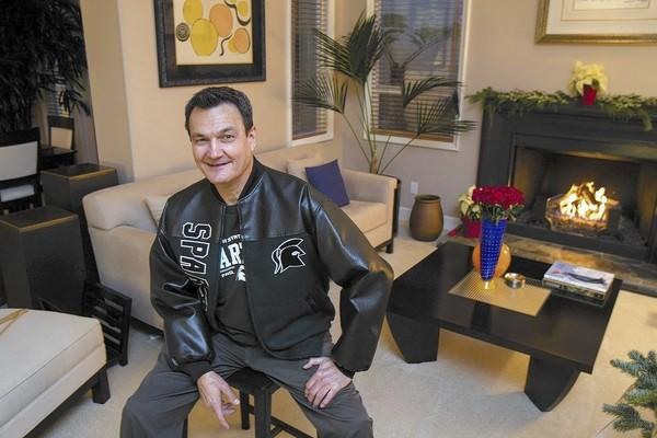 Al Freeman, an Irvine resident, is in charge of setting up a fun Michigan State alumni party for the big game at the Rose Bowl against Stanford.