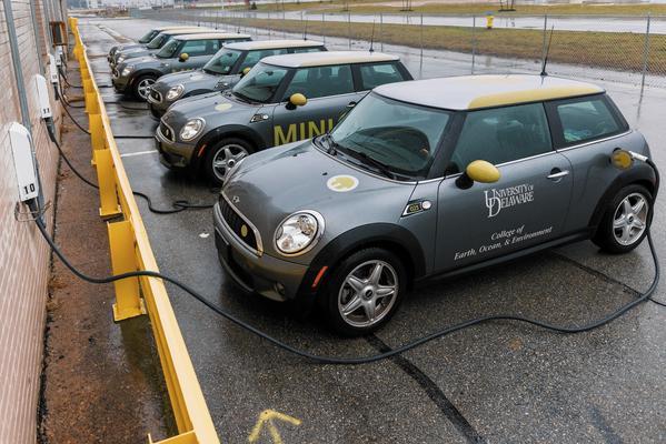 Electric car power storage