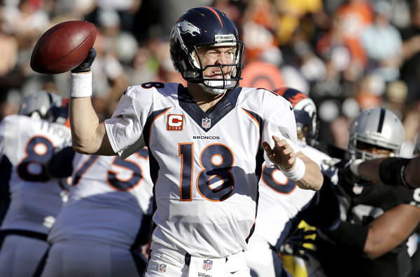 Peyton Manning Colts - NFL Single Season Record Setting 49th Touch ...