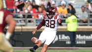 Teel Time: Virginia Tech turns to Branthover as placekicker for Sun Bowl