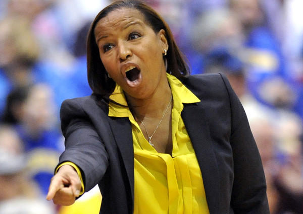 First-year Coach Cynthia Cooper-Dyke will lead her alma mater into a Pac-12 Conference game against crosstown rival UCLA on Monday.