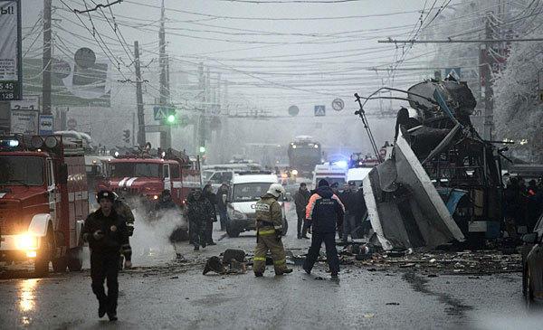 Russia bomb blast