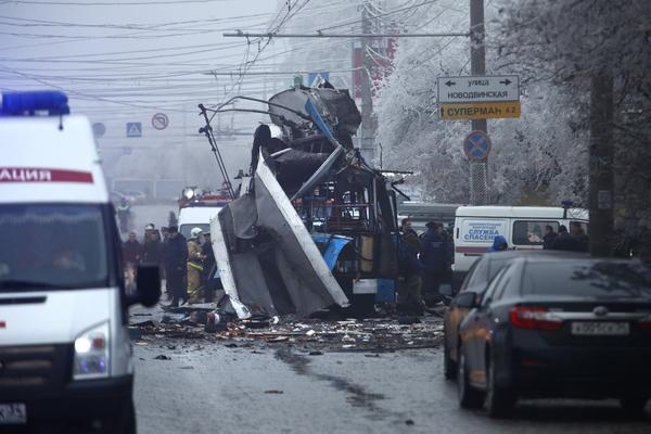 Bus bombing in Volgograd, Russia