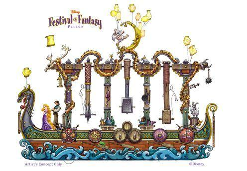 The Festival of Fantasy Parade will debut at Fantasyland inside Magic Kingdom this spring.
