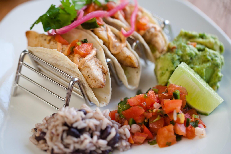 West Coast mahi mahi tacos at Nacional 27