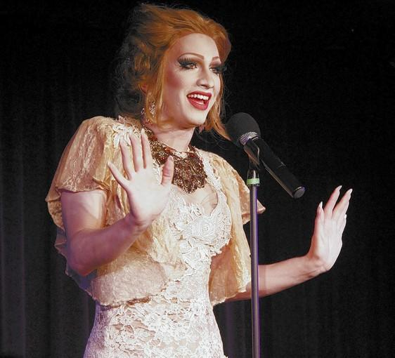 "Jinkx Monsoon, a drag persona created by Jerick Hoffer, stars in ""The Vaudevillians."""