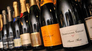 New Year's revelers trade up to French champagne as economy improves