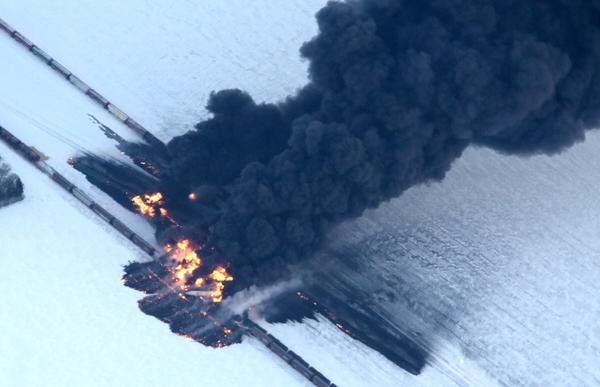 North Dakota derailment