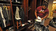 Ravens clean out their lockers day after season ends