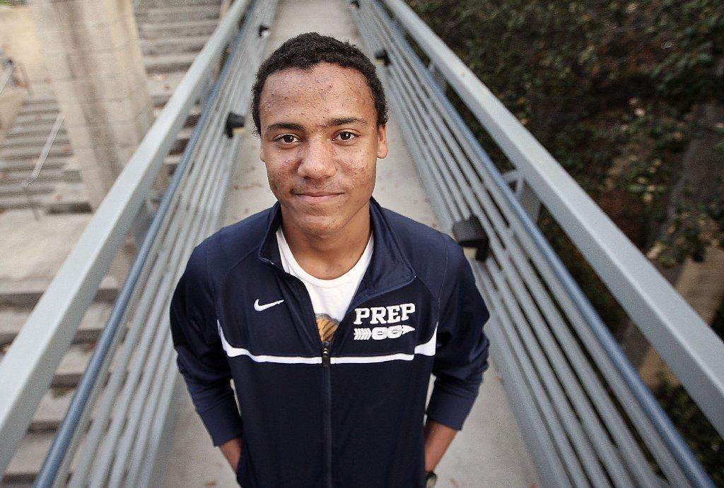 Flintridge Prep's senior Alan Yoho is the 2013 All-Area Boys' Runner of the Year. (Roger Wilson/Staff Photographer)