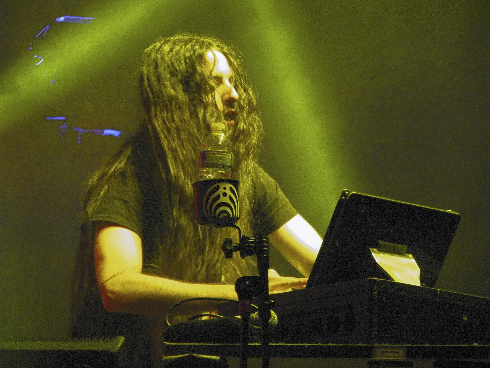 Bassnectar performs for a big crowd at Hampton Coliseum in December 2012.