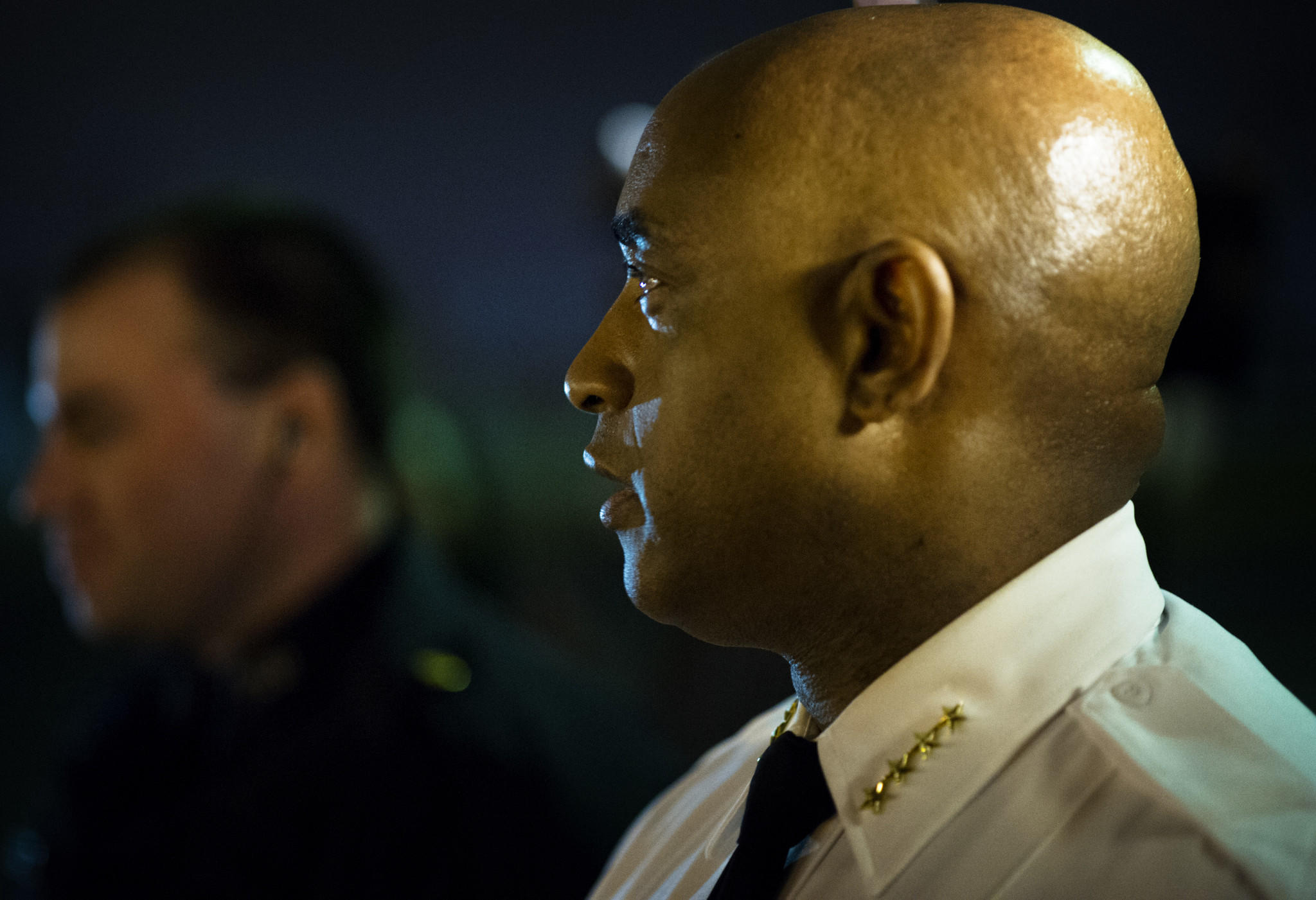 BALTIMORE, MD -- 11/12/13 -- Baltimore police commissioner Anthony W. Batts is shown in this file photo.