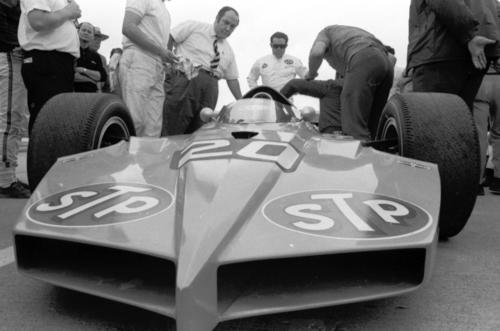 The auto-racing legend and businessman designed and owned cutting-edge cars raced at Indianapolis Motor Speedway. He became a household name with TV commercials for his STP fuel and oil additives. He was 90.