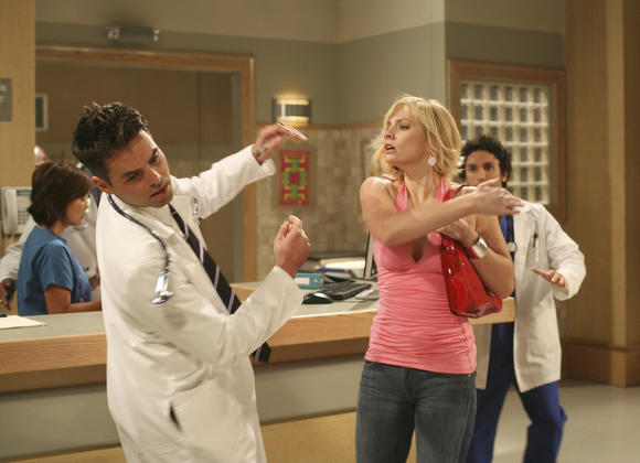 "Scene from ""General Hospital"""