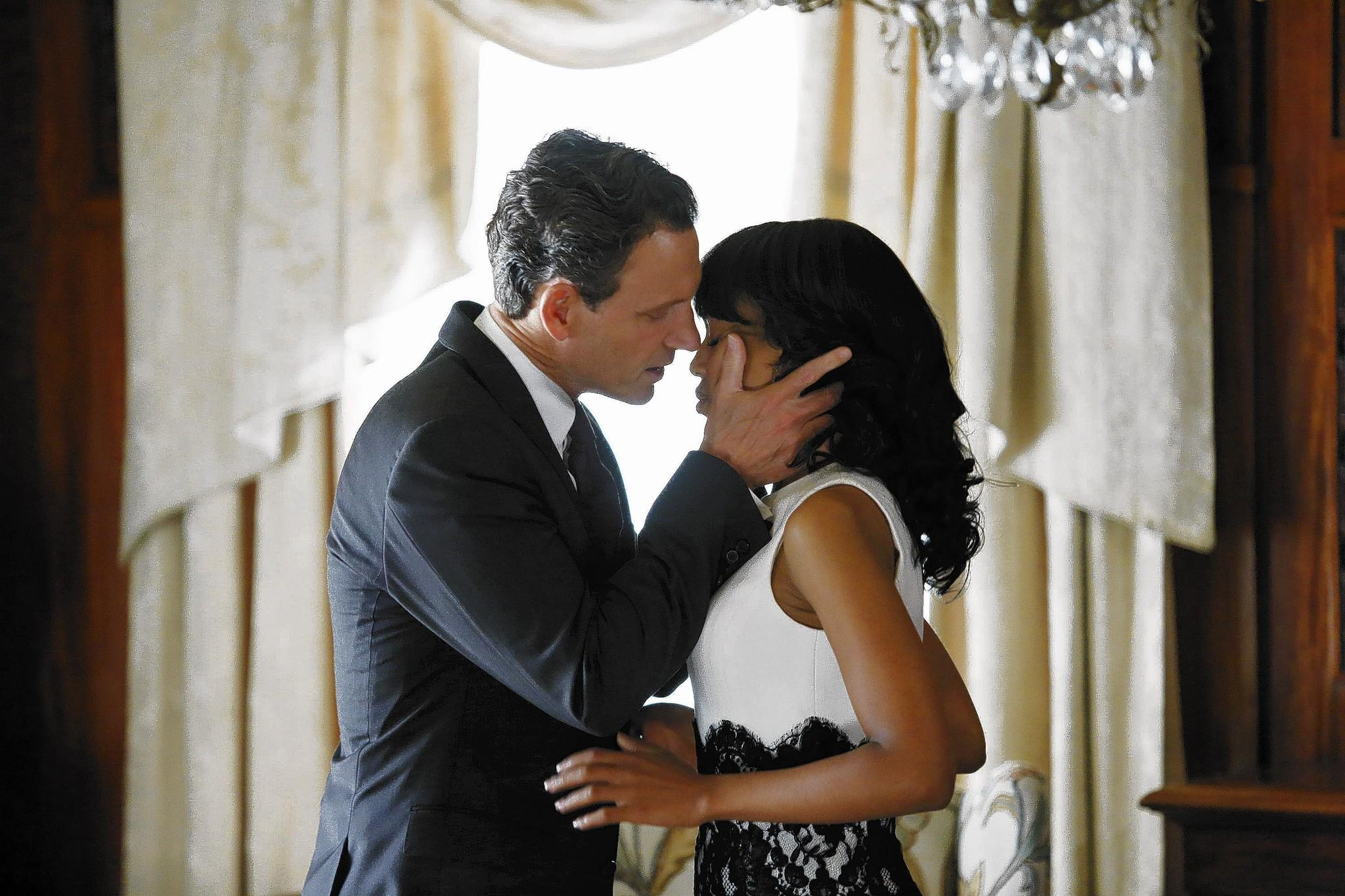 """Scandal,"" starring Tony Goldwyn and Kerry Washington, is one of the highest-rated shows on TV because it is so far removed from reality."