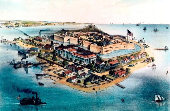 Fort Monroe in the Civil War