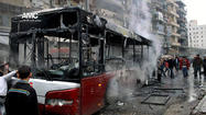 Missile strike kills at least 20 people in Syrian city of Aleppo