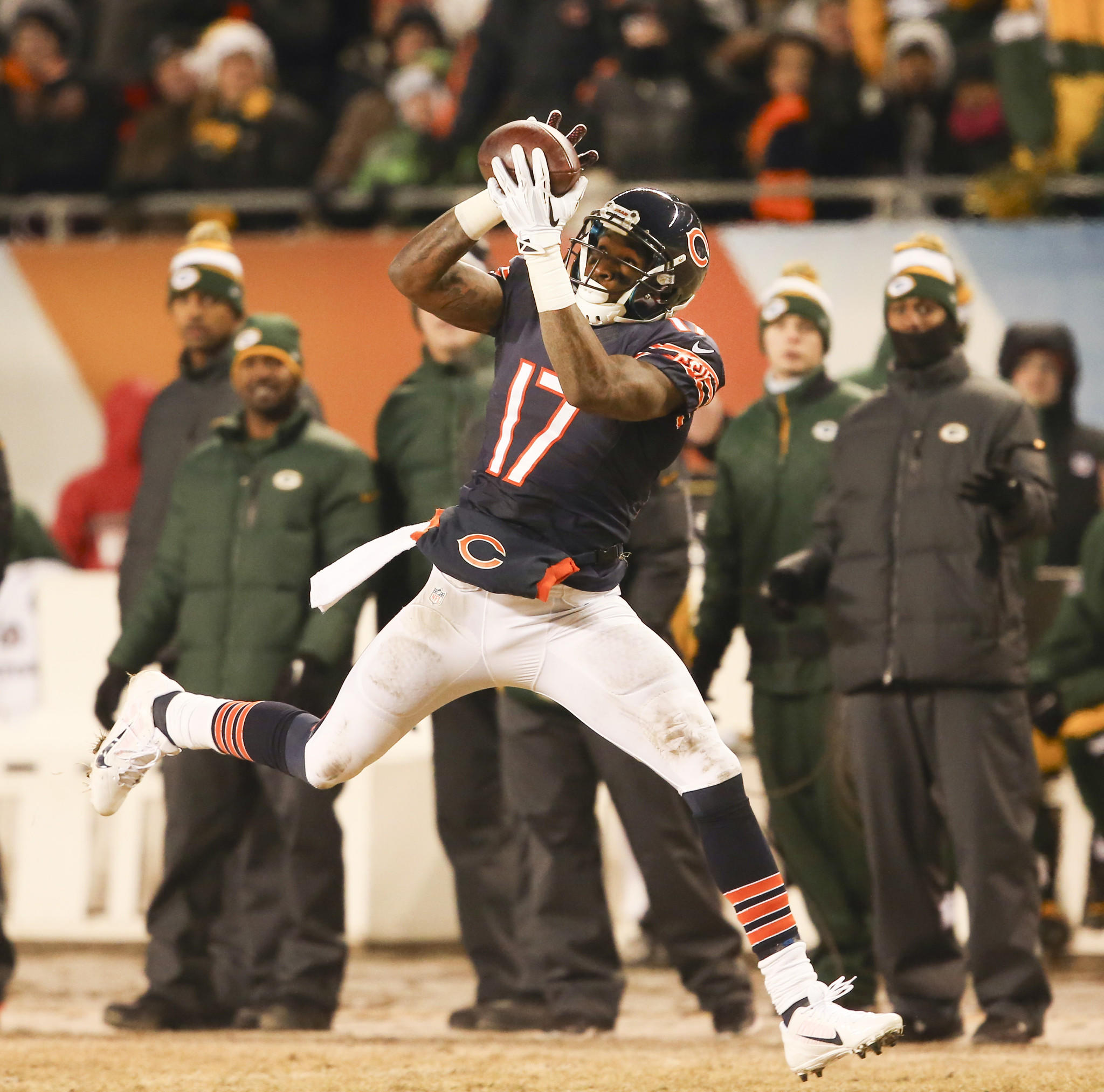 The emergence of wide receiver Alshon Jeffery is one reason Bears fans should be optimistic about next season.