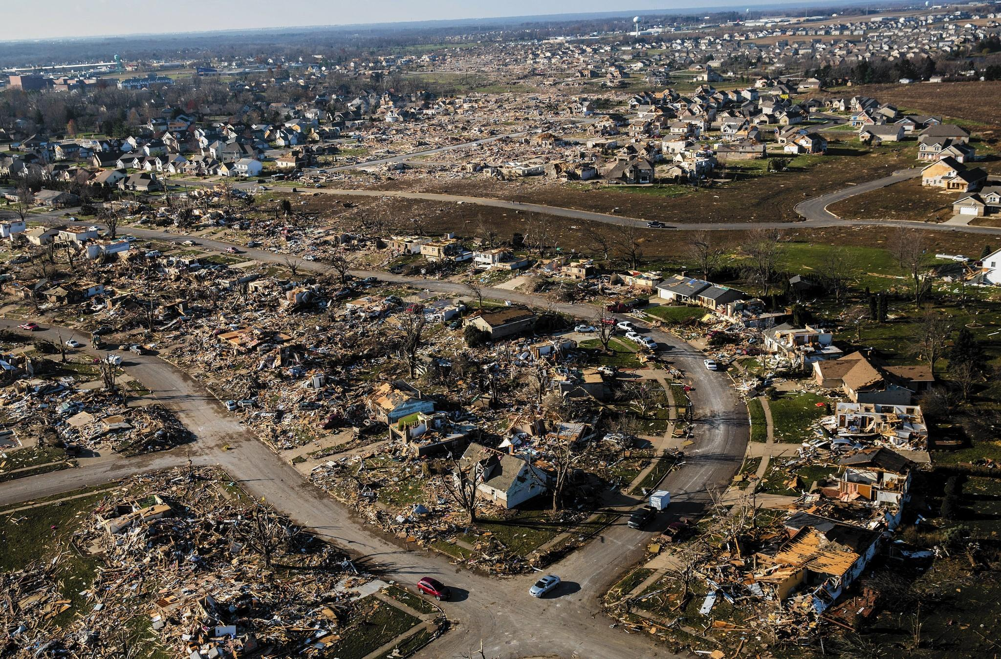 Washington, Ill., which became nationally known after it was hit by a tornado six weeks ago, is older than Chicago.