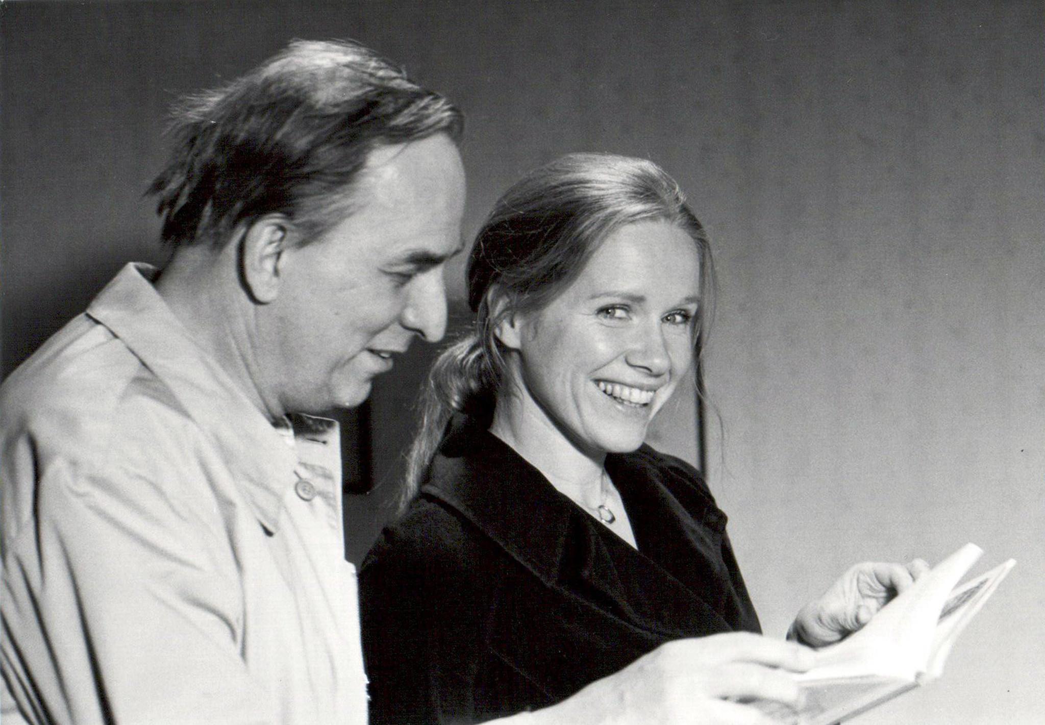 "Ingmar Bergman and Liv Ullmann, in ""Liv and Ingmar."""