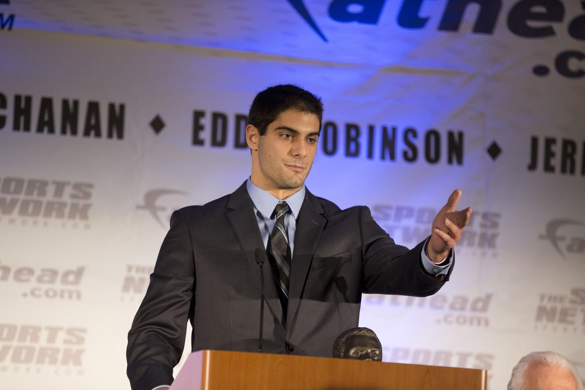 Jimmy Garoppolo of Eastern Illinois.