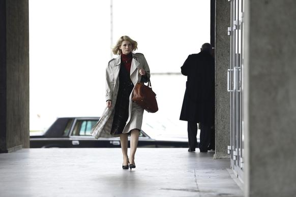 "Jodie Whittaker as Agent Sandy Grimes in ""The Assets,"" which premieres at 10 p.m. Jan. 2 on ABC."