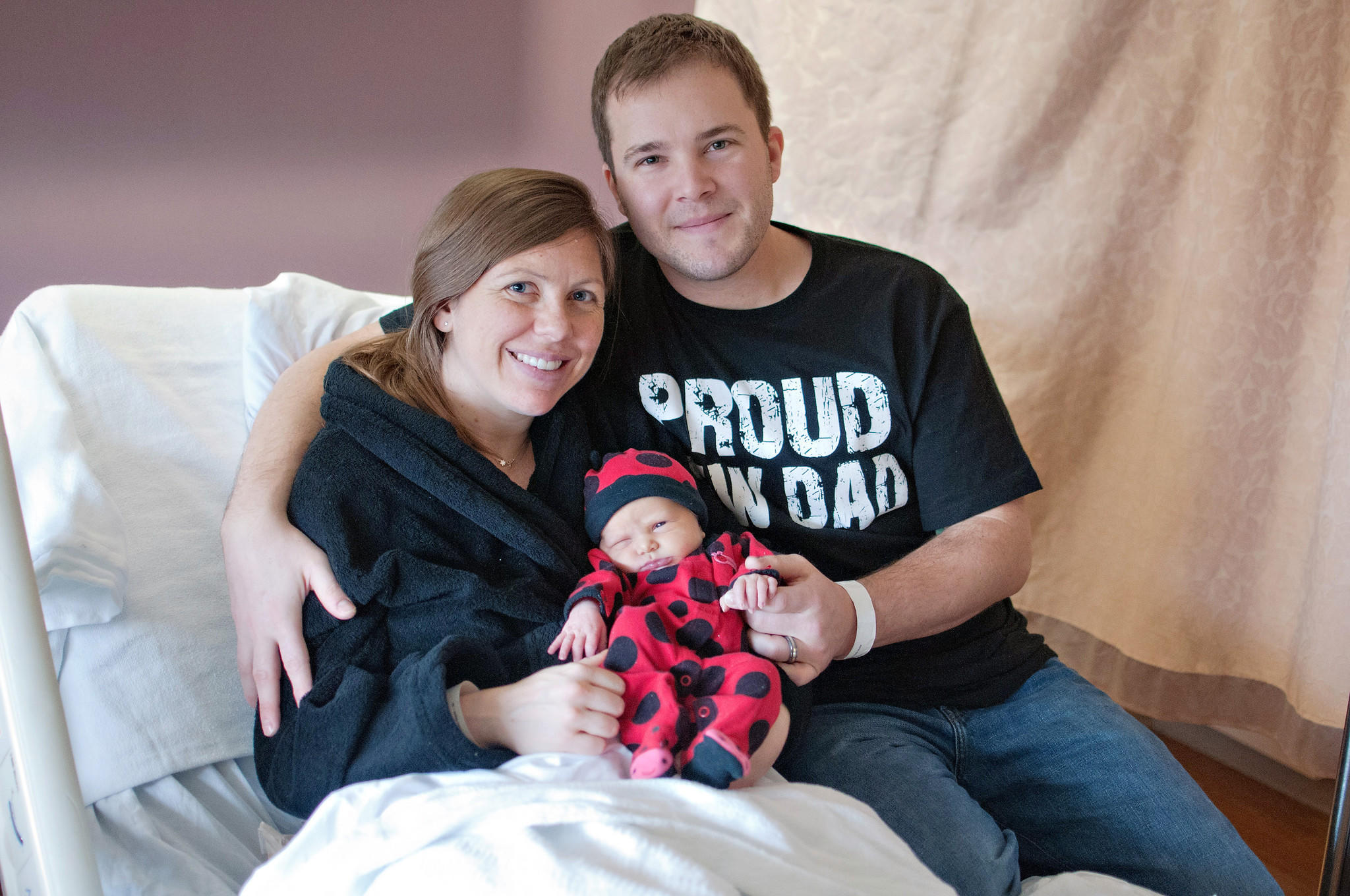 Lydia Strube Ammann was born at 12:25 A.M. on Jan. 1 to parents Jason and Emily Ammann. She is the couple's first child and the first baby born in Howard County in 2014.