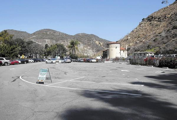 The Forest Avenue parking lot is part of the the proposed Village Entrance project.
