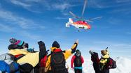 52 ship passengers stranded in the Antarctic airlifted to safety