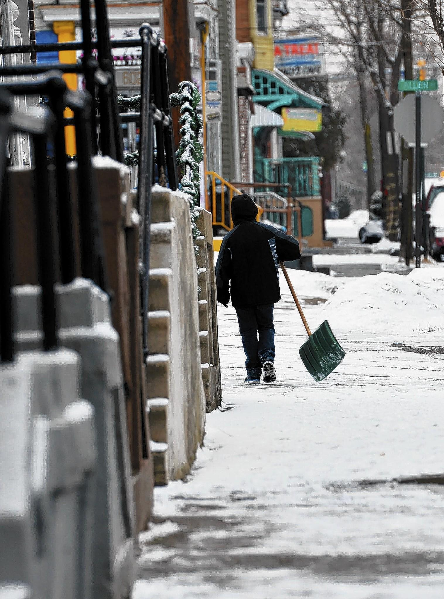 Most Lehigh Valley municipalities give residents 24 hours to shovel walkways, and while most comply, there are always some who need a push.