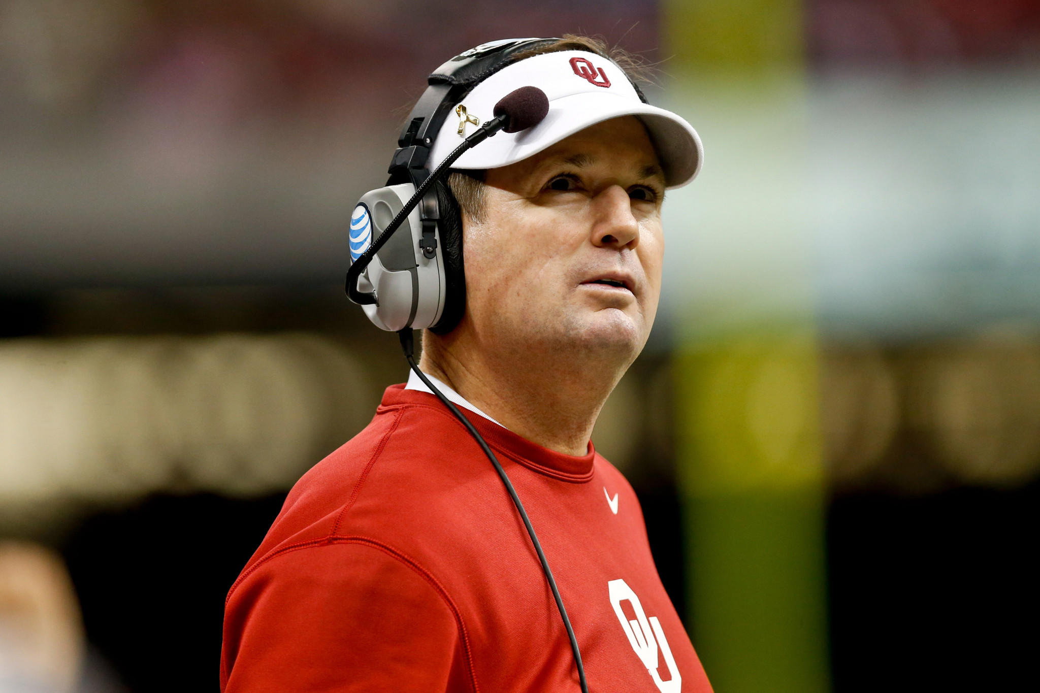 Oklahoma Sooners head coach Bob Stoops.