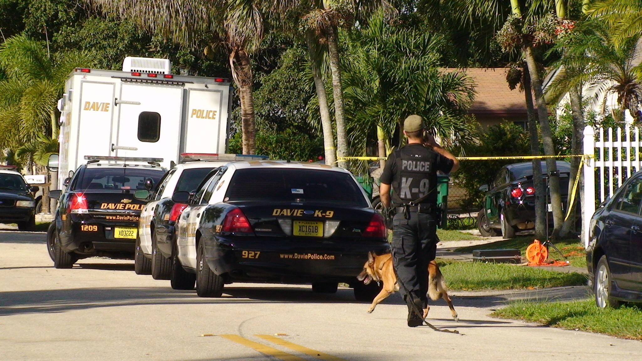 Davie Police found an AK-47 assault rifle believed to be the weapon the victim used to kill a home invasion robbery suspect