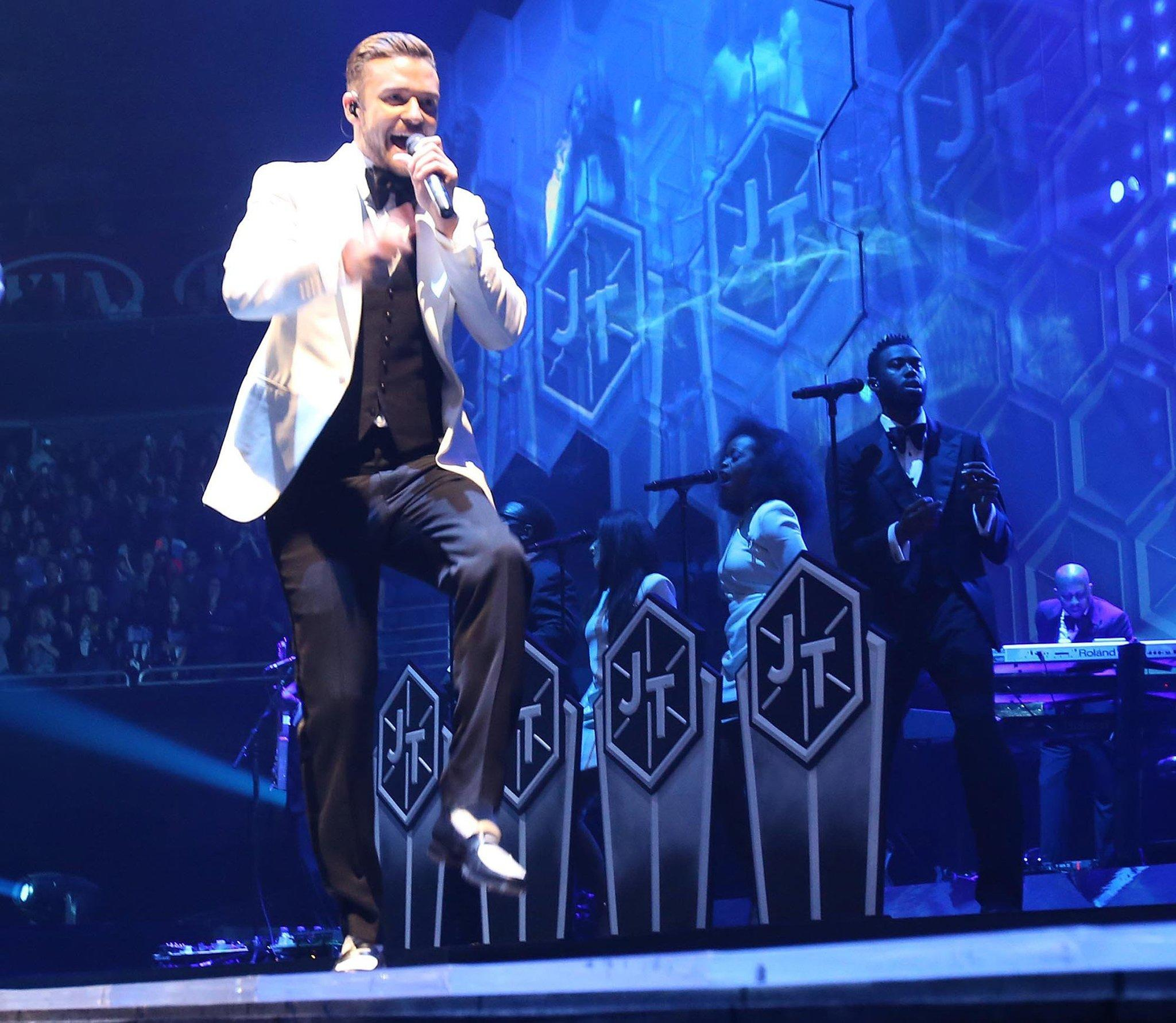 "Justin Timberlake, shown during a December performance in Orlando, Fla., had the top-selling album of 2013 with ""The 20/20 Experience."""