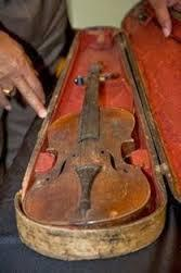 A violin once owned by a slave.
