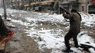 Rebels battle Al Qaeda-linked fellow rebels in northern Syria