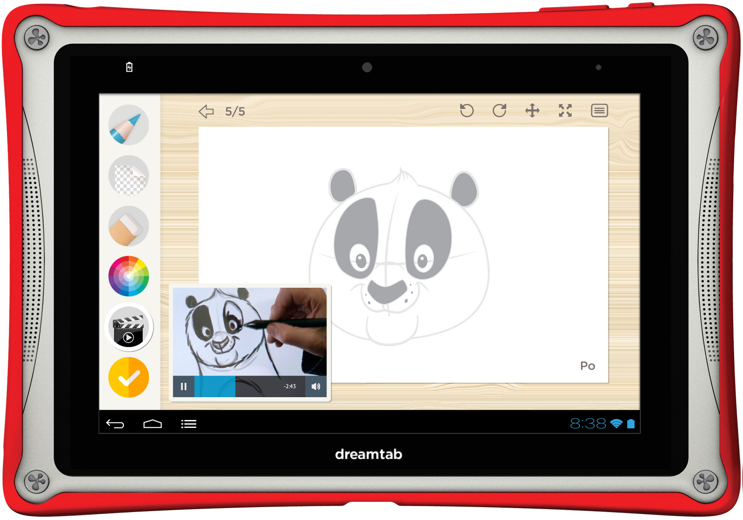 DreamWorks Animation is launching a new tablet with El Segundo-based Fuhu Inc.
