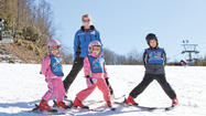 Photos: Skiing with the kids