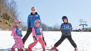 Taking the Kids -- during Learn a Snow Sport Month
