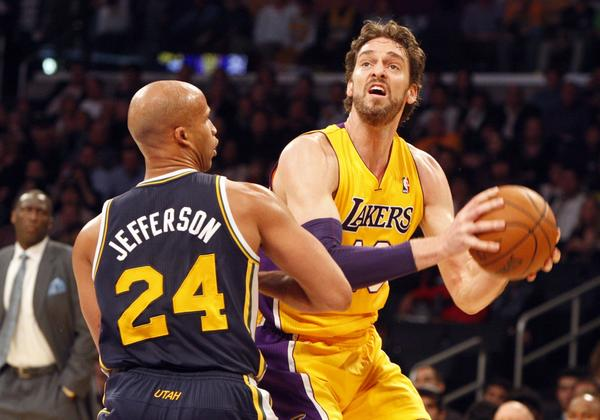 Richard Jefferson, Pau Gasol