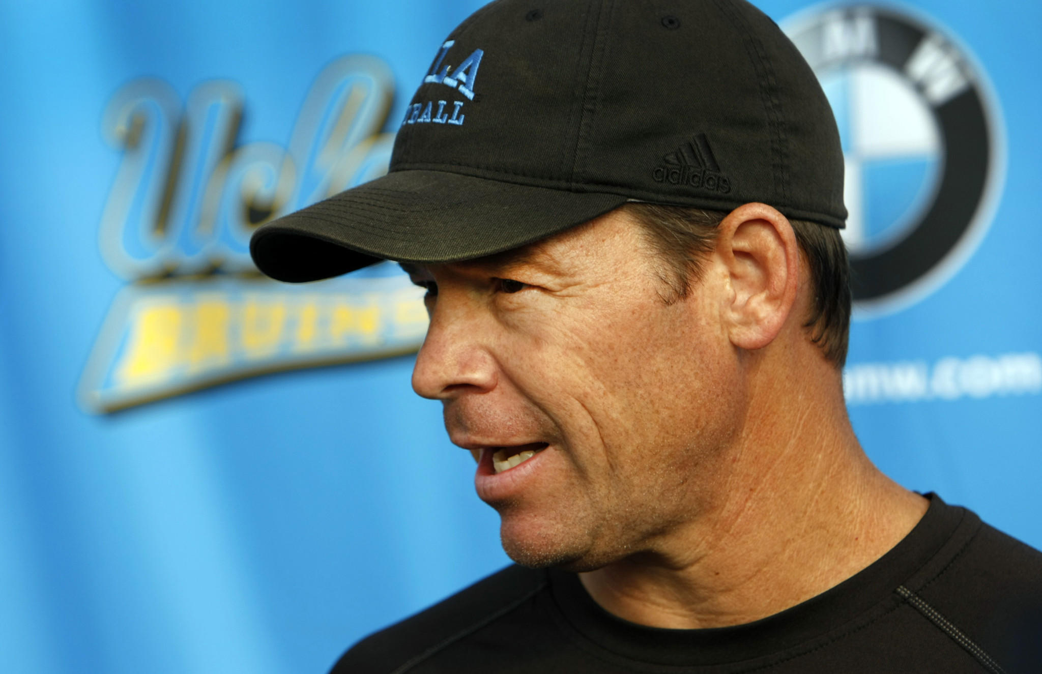 Jim Mora was among the names suggested as a possible candidate to replace Mack Brown at Texas, but the UCLA coach says he's committed to the Bruins.