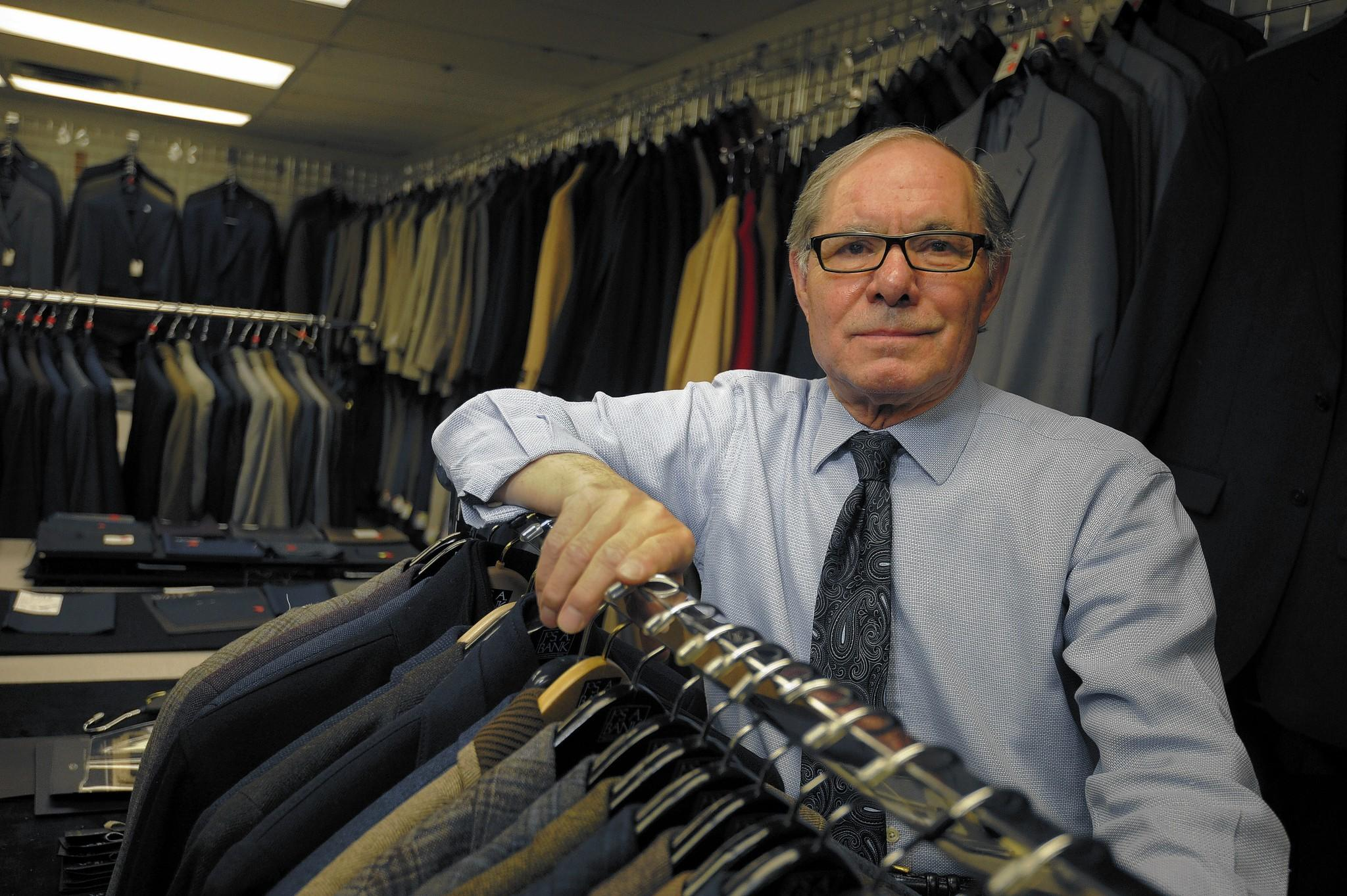 John Ciambruschini is the master tailor at Jos. A. Bank Clothiers Inc.