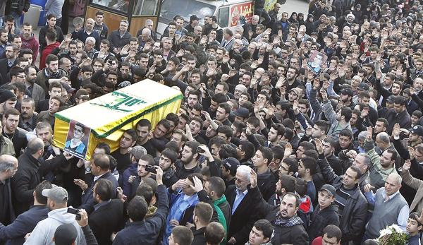 Funeral after explosion in Beirut