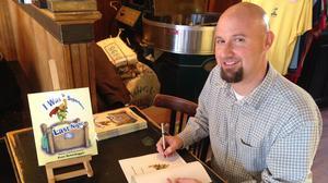 Yorktown author features first children's book at Aromas