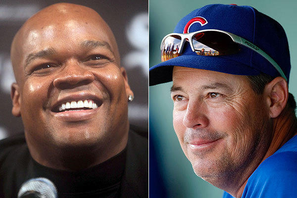 Frank Thomas and Greg Maddux.