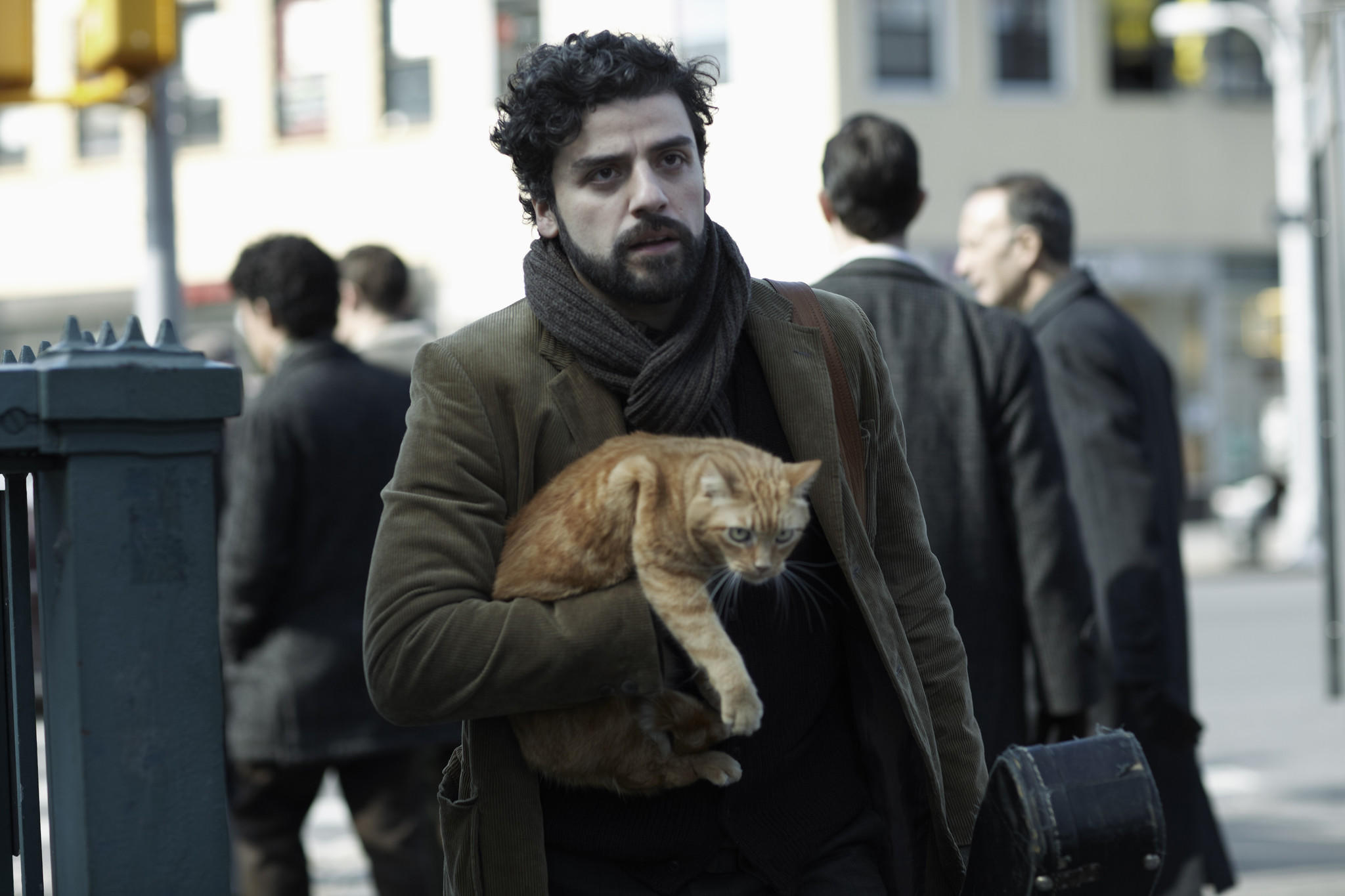 "Oscar Isaac in a scene from ""Inside Llewyn Davis."""