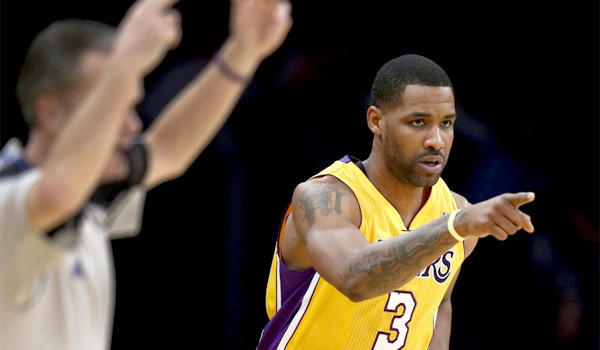 Forward Shawne Williams is averaging 5.2 points on 20.4 minutes per game for the Lakers this season.