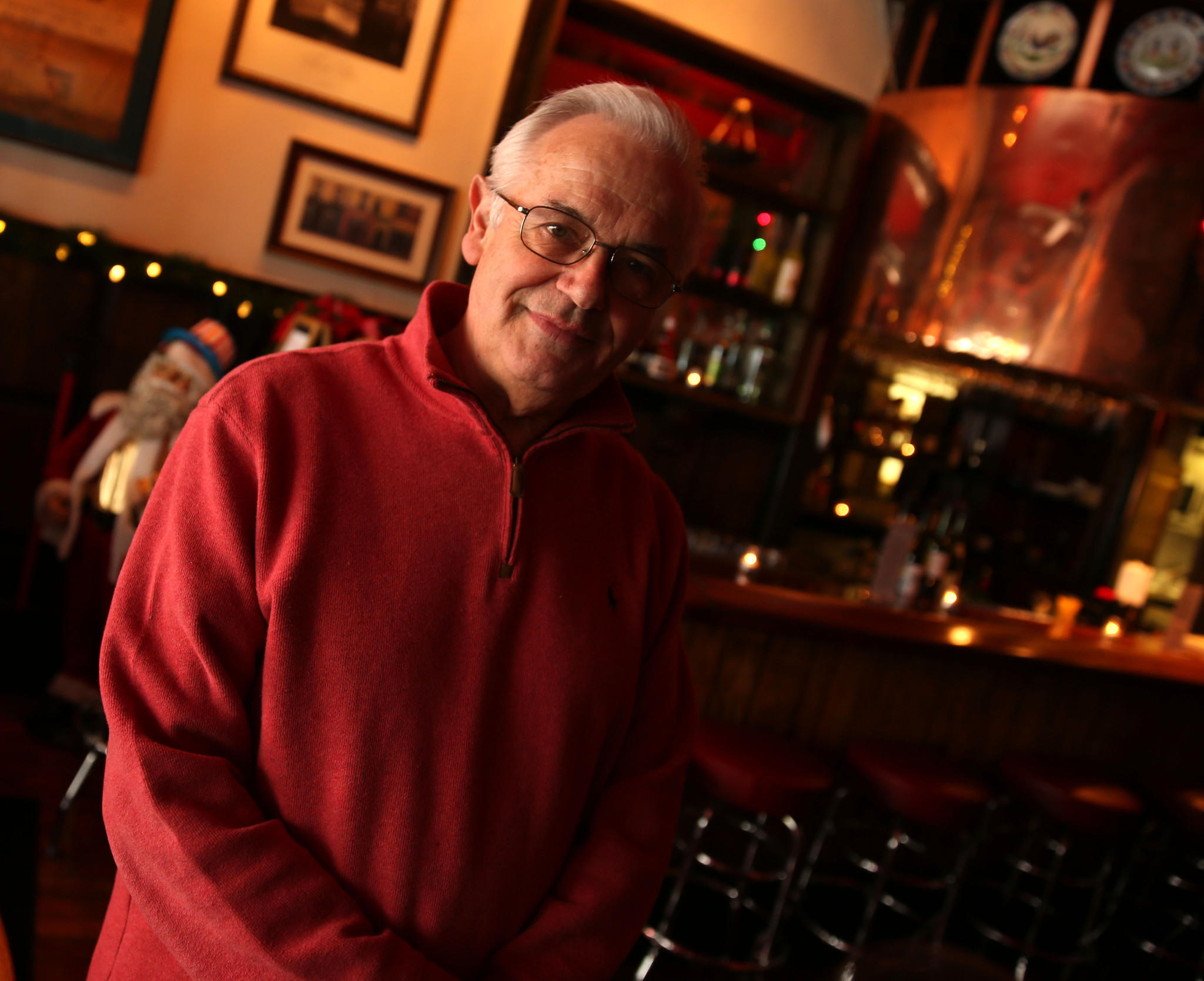 Germain Roignant, 75, reopened Le Creperie on Clark Street quietly in December after closing in August.